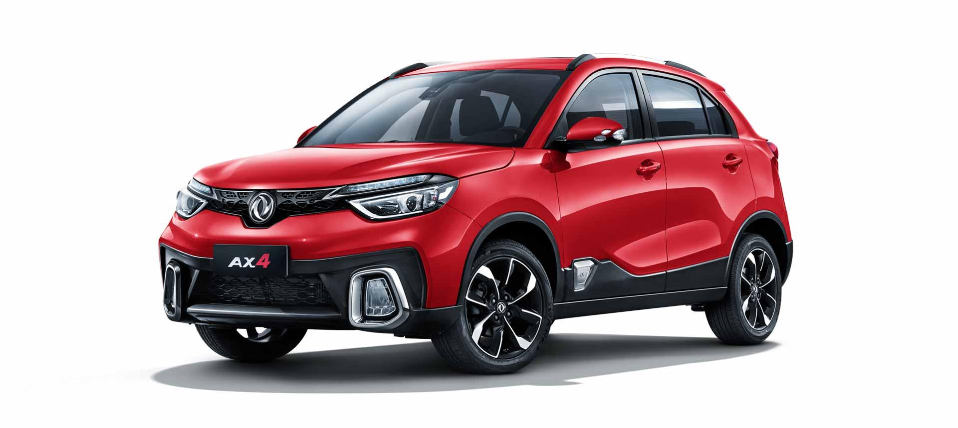 AX4 Dongfeng / AT-MT 5 asientos Motor 1.6L/5MT Tecnología Nissan