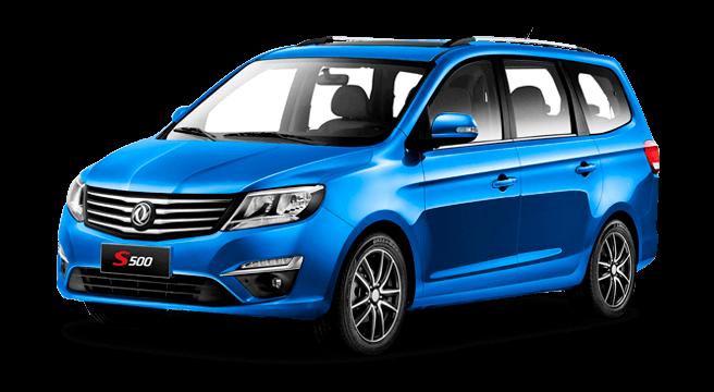 dongfeng Joyear S500, motor Mitsubishi 1.5L / 5MT, 7 asientos